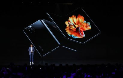 Xiaomi launches its first foldable phone and camera chip as it looks to challenge Samsung