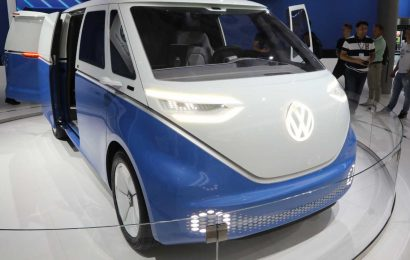 Volkswagen's long-awaited revival of microbus goes autonomous: ID Buzz electric van on its way