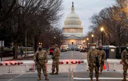 Lawmakers from both sides criticize the Pentagon over its decision to station the National Guard at the Capitol until May