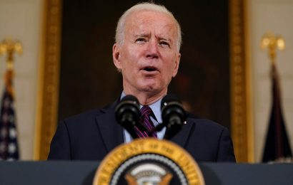 Biden fills his primetime remarks on COVID-19 with jabs at Trump