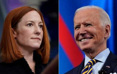 Jen Psaki dodges question about whether Biden saw doctor after fall