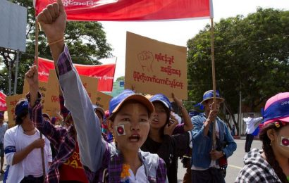 Myanmar garment workers urge global brands to denounce coup