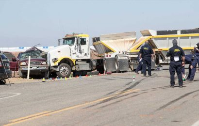 California crash kills at least 13 people: What we know about the SUV-semitruck collision near US-Mexico border
