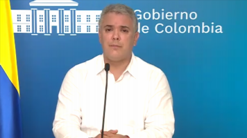 Colombian President Duque: 'We're not a rich nation, but we tried to do something humanitarian' for migrants