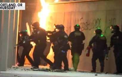 ABC, NBC, CBS ignore Portland violence, chaos during evening newscasts