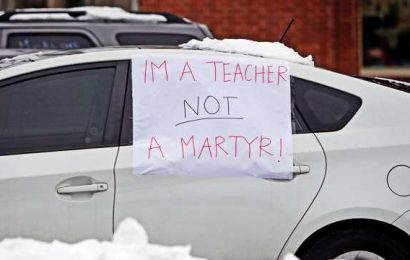 Democrats bankrolled by teachers unions while schools stayed closed, 'Follow the money'