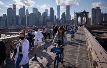 New York City will reopen 100% on July 1, Mayor Bill de Blasio says
