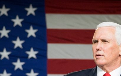 Professional political survivor Mike Pence tests if there's any room left for him in a Trump Republican Party
