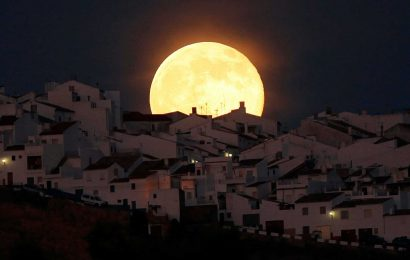 Supermoon 2021 dates – when and how to spot all FOUR this year