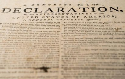 The Declaration of Independence is going public