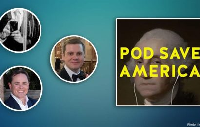Ruthless podcast hosts mock Pod Save America for 'bulls— copy' of viral 'Liberal Hack Tournament'