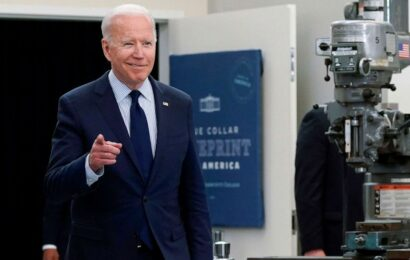 Biden to praise progress against COVID-19 pandemic ahead of major holiday weekend