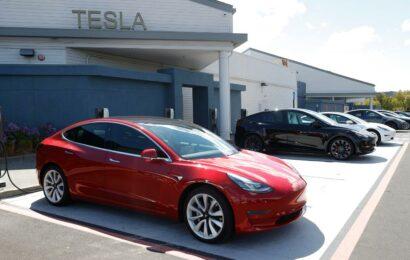 Bitcoin helps Tesla post record profits