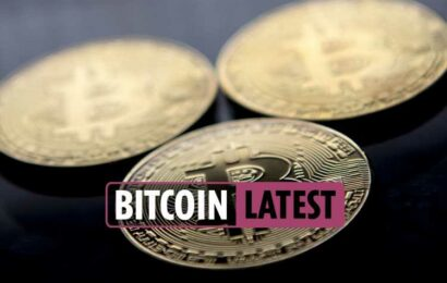 Bitcoin price latest – Bitcoin and Ethereum plummet as $1TRILLION is wiped off value of cryptocurrencies in two weeks