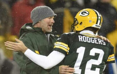 Brett Favre 'not very optimistic' that Aaron Rodgers will play for Packers again