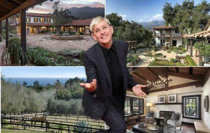 Ellen DeGeneres buys back $14.3M ranch after bombshell announcement
