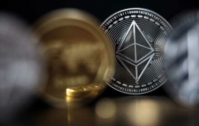 Ethereum hits new record high above $3,400, extending its more than 300% rally this year
