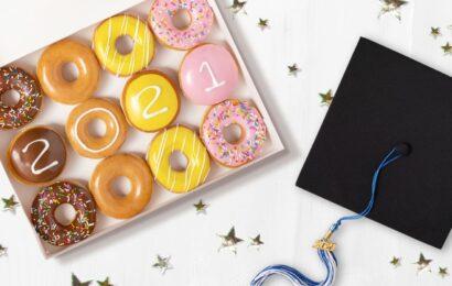 Krispy Kreme free donuts: Here's how graduating seniors get a 'Graduate Dozen' Thursday