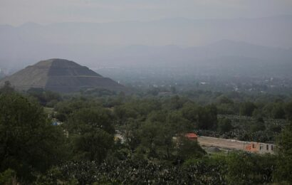 Mexico raids building project next to Teotihuacán pyramids