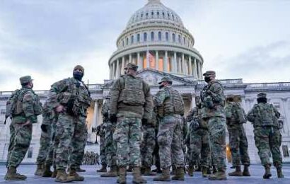 National Guard to leave DC this week, Pentagon says