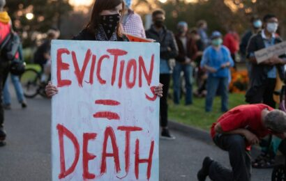 Only fear of death is holding back a wave of tenant evictions — but that will pass soon