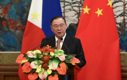 Philippine foreign secretary directs unusually aggressive tweet at Beijing over South China Sea