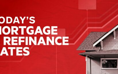Today's mortgage and refinance rates: May 15, 2021 | Rates increase