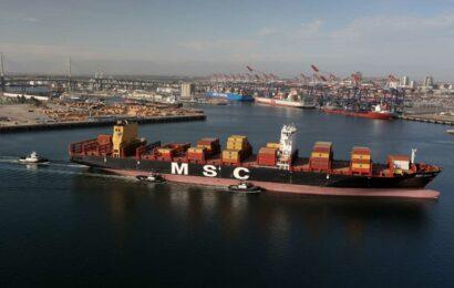 U.S. trade deficit surges to record; shortfall with China keeps rising