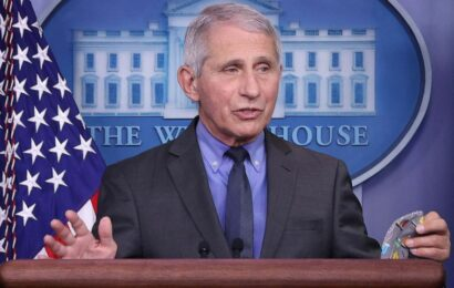 Vaccinations are the 'end game' to the COVID-19 crisis in India: Fauci