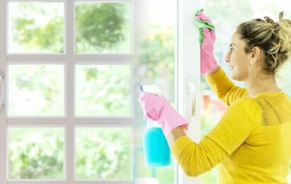 Window cleaning: Mrs Hinch fans share 'amazing' hack to get rid of streaks using black tea