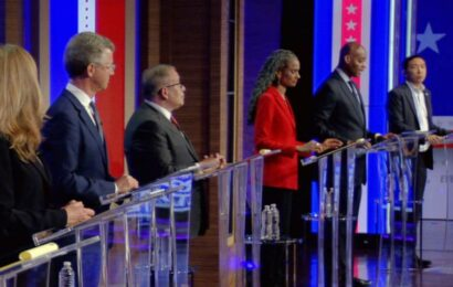 Andrew Yang blasts Eric Adams with 'corruption' allegations in heated NYC Democratic mayoral debate