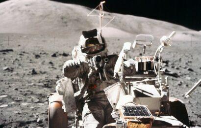 Apollo 17 astronaut Harrison Schmitt has some ideas for GM's new lunar vehicle