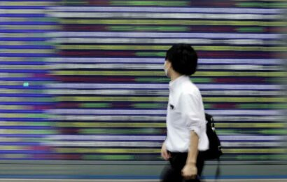 Asia-Pacific stocks slip as U.S. Fed signals rate hikes in 2023