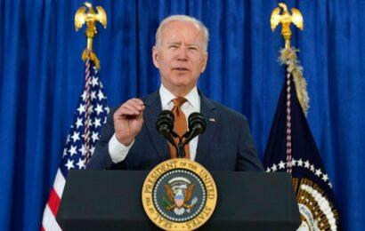 Biden calls latest jobs report 'great news,' claims 'historic progress' in economic rebound