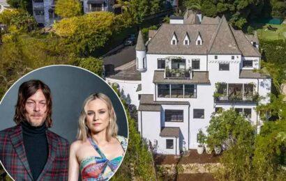Diane Kruger and Norman Reedus list $9M LA pandemic castle