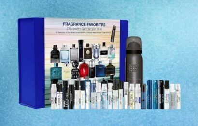 Father's Day 2021: This cologne gift set features 23 different scents—and it's on sale for $20