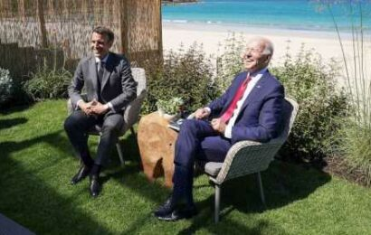 French President Macron says US is 'definitely' back, welcomes Biden to 'the club'
