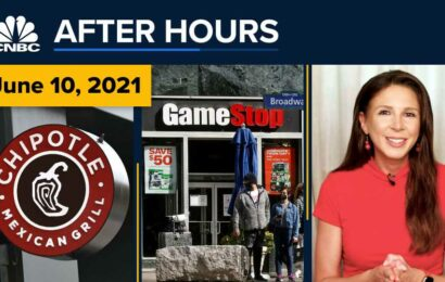 GameStop shares crater 27% as ousted CEO walks away with millions: CNBC After Hours