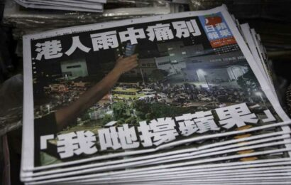 Hong Kong police arrest former Apple Daily journalist at airport