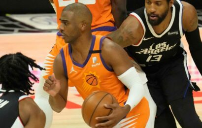 How Suns' Chris Paul keeps a positive outlook after recent playoff absence vs. Clippers