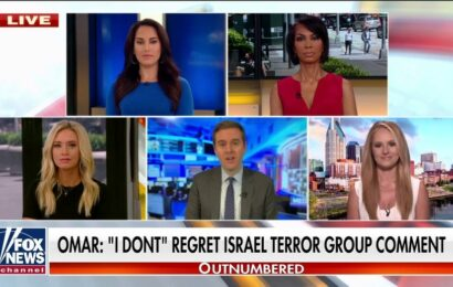 Ilhan Omar says she is focused on finding 'solidarity' with her Jewish colleagues after latest backlash