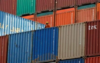 India's trade deficit hits 8-month low