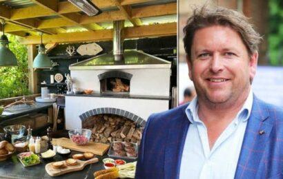Inside chef James Martin's stunning home on James Martin's Saturday Morning