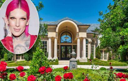 Makeup guru Jeffree Star lists palatial $20M California mansion
