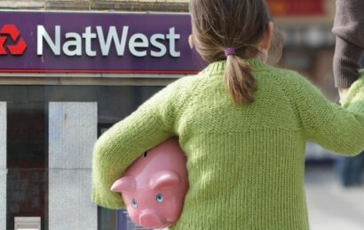NatWest launches new Junior ISA as savers 'exposed' to 'corrosive impact of inflation'