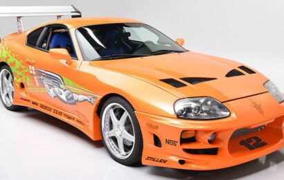 Paul Walker's 'Fast and Furious' Toyota Supra sold for $550,000