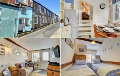 Rightmove: Cornwall home narrower than London bus is on the market for just under £430k