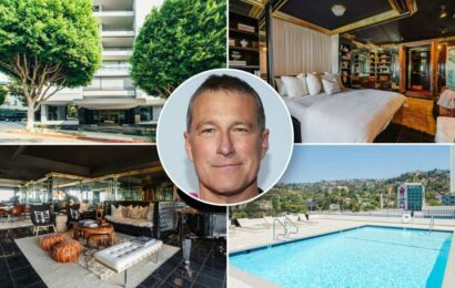 Actor John Corbett lists glam West Hollywood condo for $1.31M