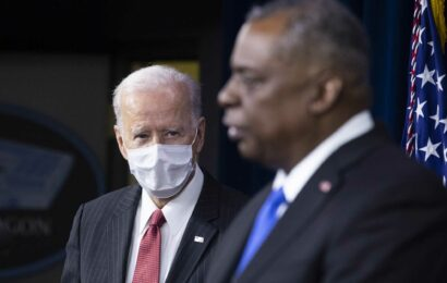 Biden backs Pentagon chief Lloyd Austin's effort to remove sex assault cases from military chain of command