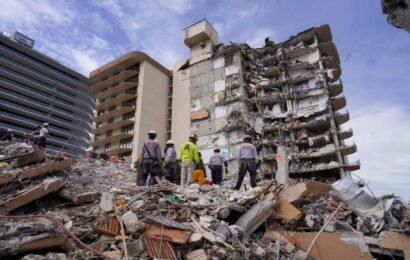 Demolition of collapsed condominium tower in Florida to begin tonight, Miami-Dade police say